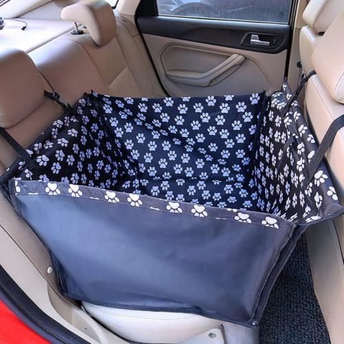 Back Seat Dog Hammock Pet Carrier