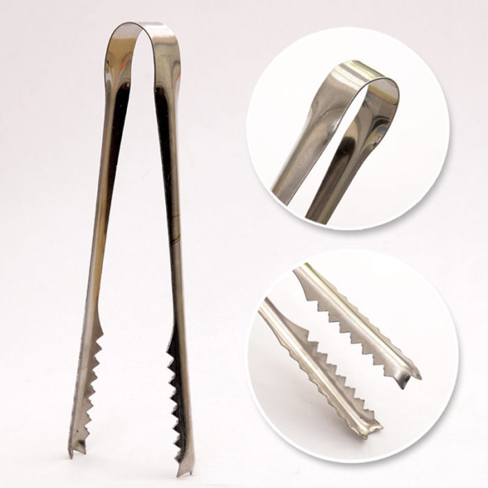 Ice Tongs Stainless Kitchen Clips