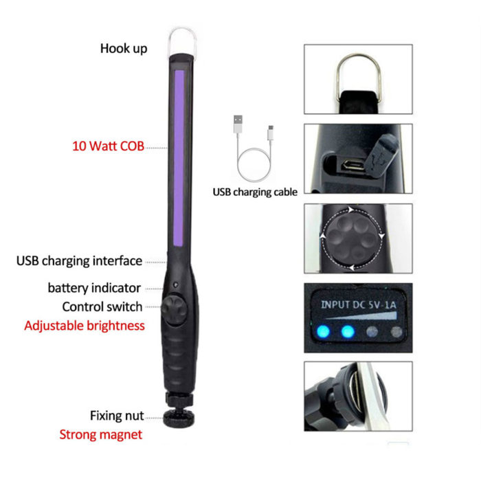 UV Light Wand Portable Disinfectant
