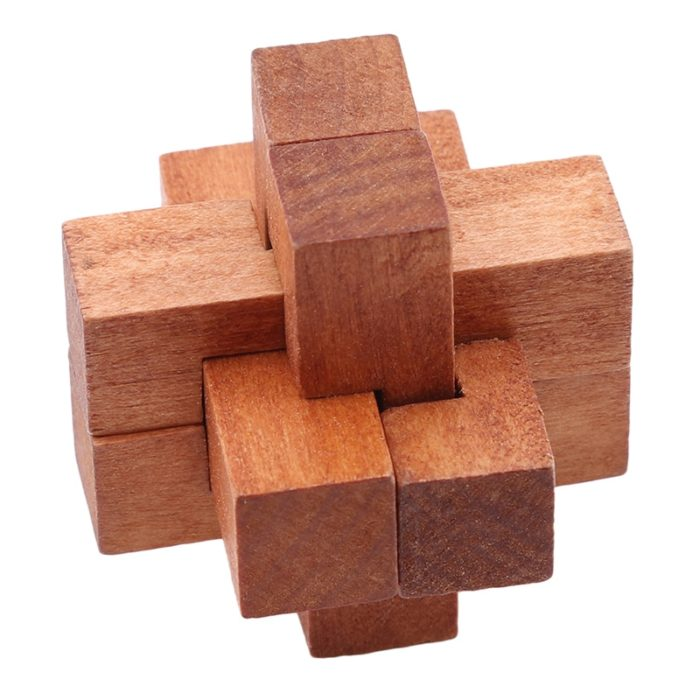 Wooden Puzzles for Adults (6Pcs)