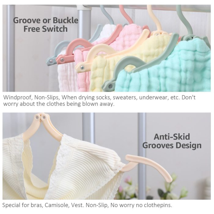 Folding Hangers Portable Clothes Hangers