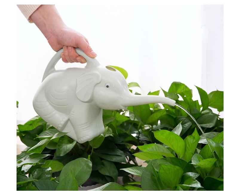 Watering Sprinkler Can Elephant Shaped Indoor Plants Garden Greenhouse Supplies