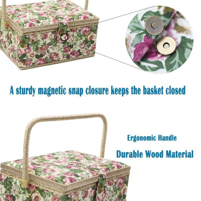 Sewing Storage Box Sewing Kit Organizer