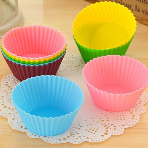 Silicone Cupcake Liners Reusable (6pcs)
