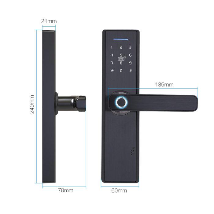 Smart Door Knob Fingerprint Unlock