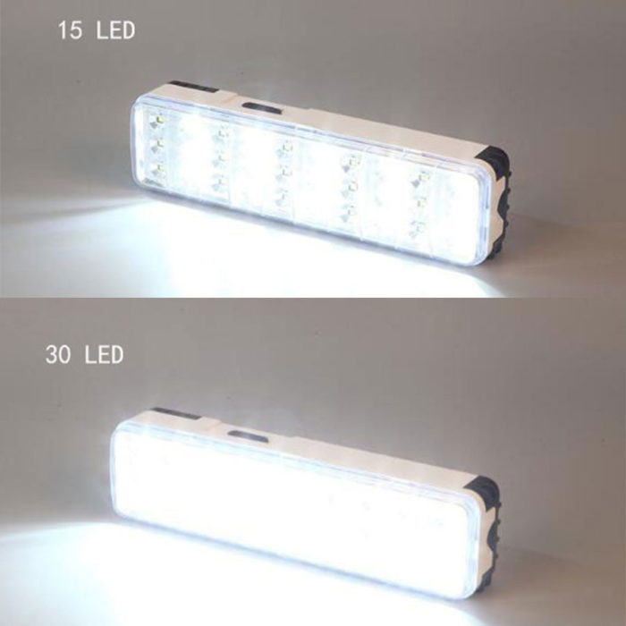 Rechargeable Emergency Light Waterproof Lamp