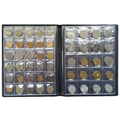 Coin Album 250-Slot Collection Book