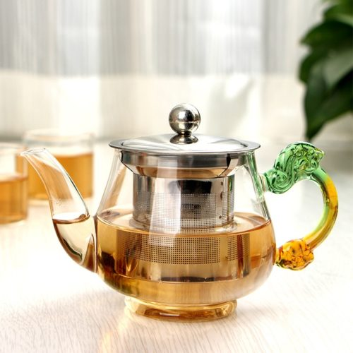 Glass Teapot with Infuser 350ml Kettle