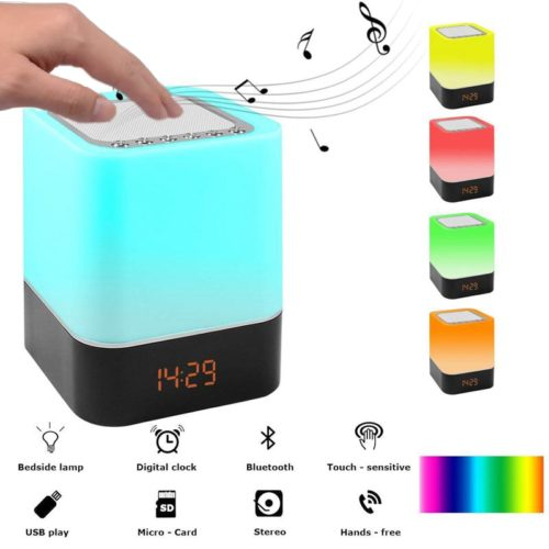 Lamp Speaker Touch Control Light