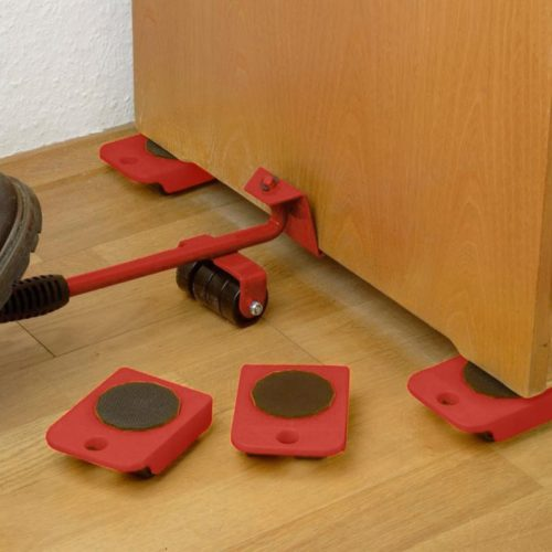 Furniture Rollers 5-Piece Moving Set