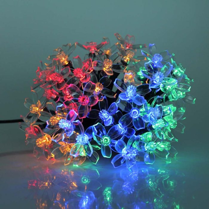 Flower String Lights LED Solar Light