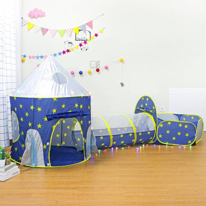 Play Tunnel And Tent For Kids