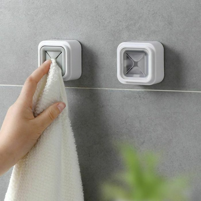 Tea Towel Holder Wall-Mount Accessory