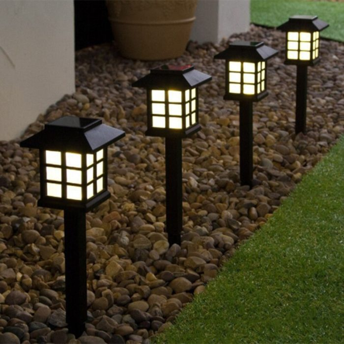 LED Solar Pathway Lights Outdoor Lamp (4pcs)