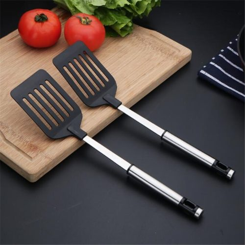 Frying Spatula Flat-Tip Kitchen Tool