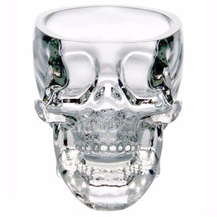 Skull Glass Transparent Skull Head Glass