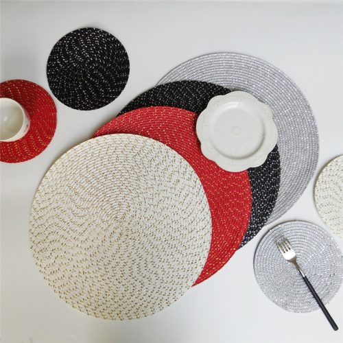 Round Table Mat PP Dining Table Mat