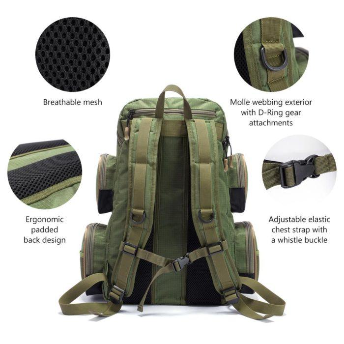 Fishing Tackle Backpack Outdoor Bag