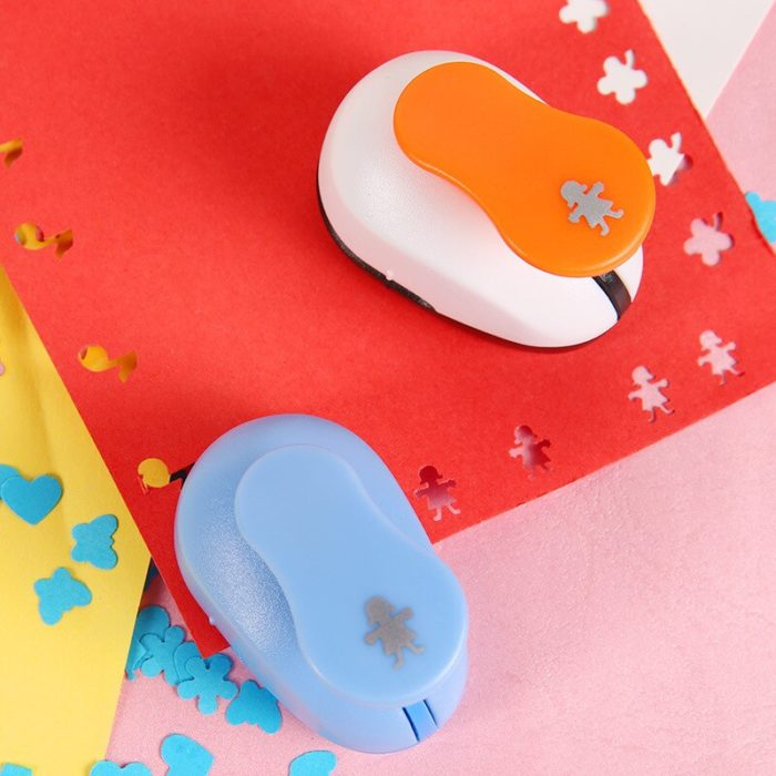 Shaped Paper Punch Mini Craft Punch