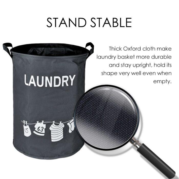Cloth Laundry Basket Foldable Hamper