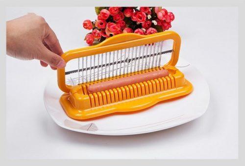 Sausage Cutter Plastic Kitchen Tool