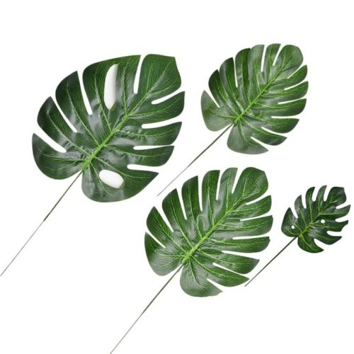 Leaf Decorations Artificial Leaves (10Pcs.)