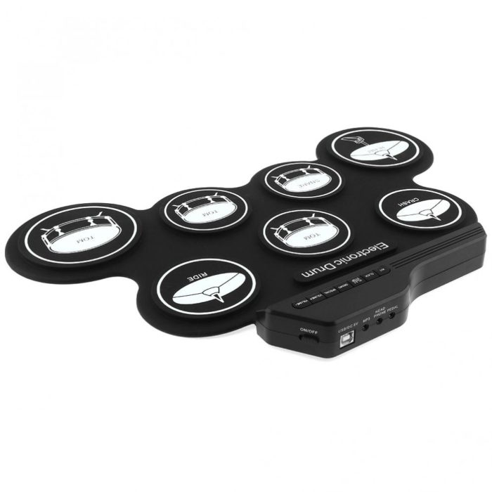 Roll-Up Drum Kit Electric Instrument Pad
