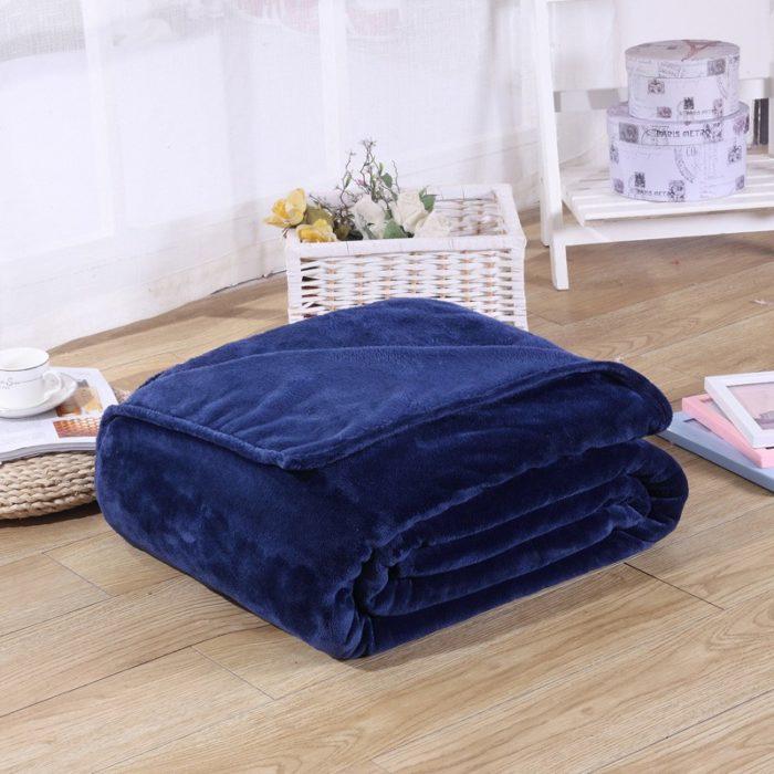 Polyester Blanket Warm Sleeping Cloth