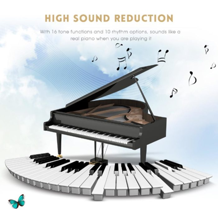 Roll Up Piano Silicone Electric Keyboard