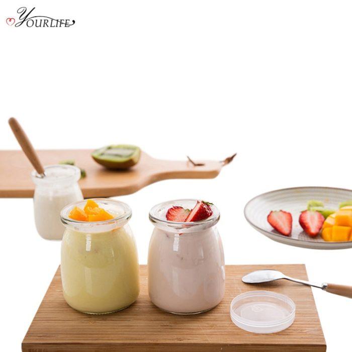Yogurt Jar Reusable Pudding Cup