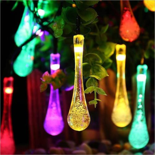 Outdoor Hanging Lights LED Solar Light