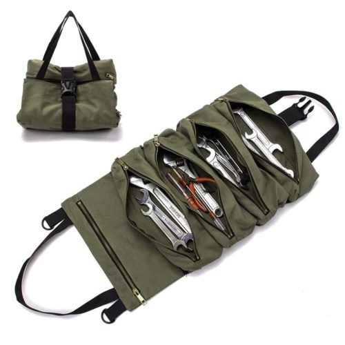 Roll Up Tool Bag Carrier Tote