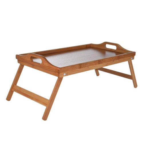 Breakfast Tray Wooden Mini Table
