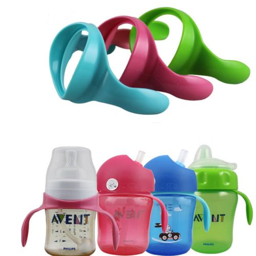 Baby Bottle Handles for Wide Neck Bottles 2 PCs