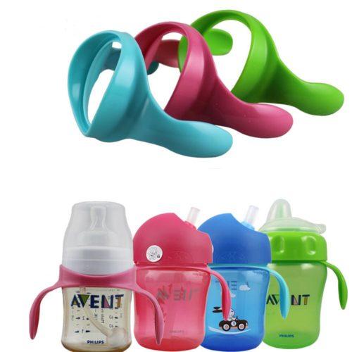 Baby Bottle Handles for Wide Neck Bottles 2 PCs