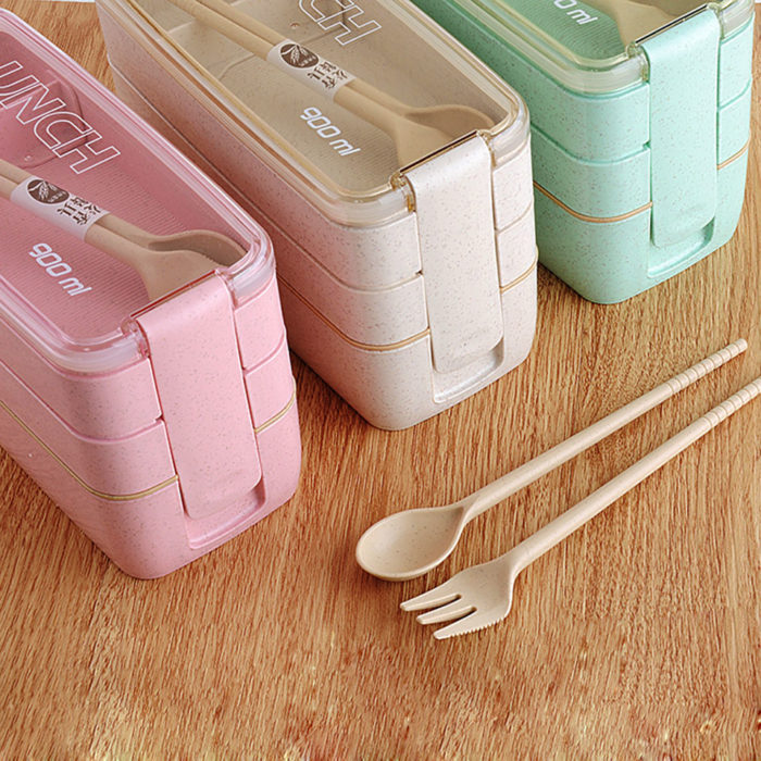 Bento Lunchbox 3 Layers Container