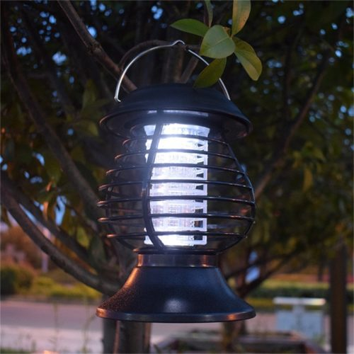 Solar Bug Zapper Mosquito Killer Lamp