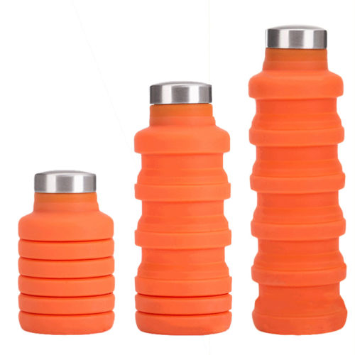 Water Bottle Foldable Silicone Tumbler