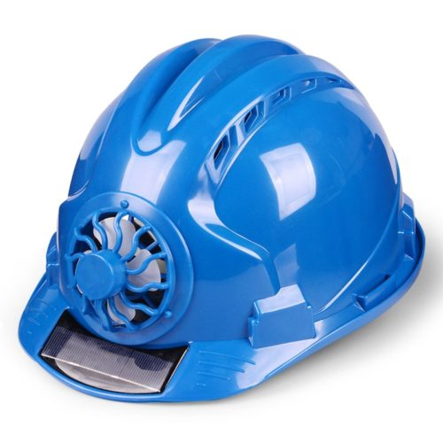 Hard Hat with Fan Solar-Powered