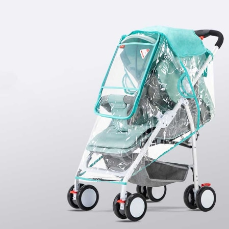 Stroller Cover Wind Dust and Rain Cover