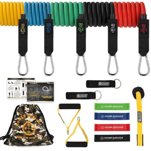 Resistance Band Set Fitness Set (12 pcs)