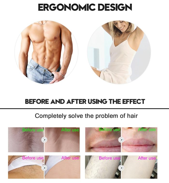 Laser Epilator Hair Removal Tool