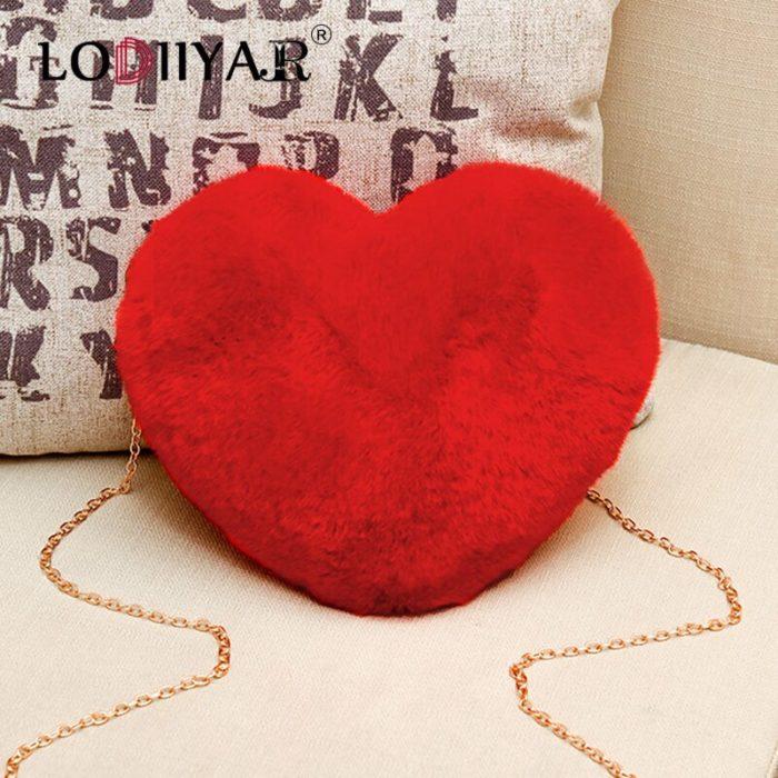 Heart Shaped Bag Ladies Shoulder Bag