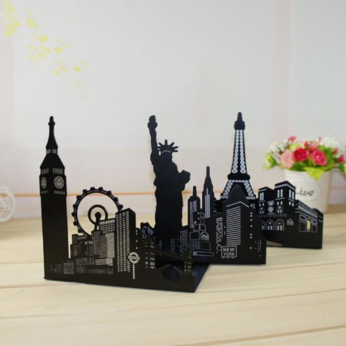 Decorative Bookends Scenic Spots (1Pair)