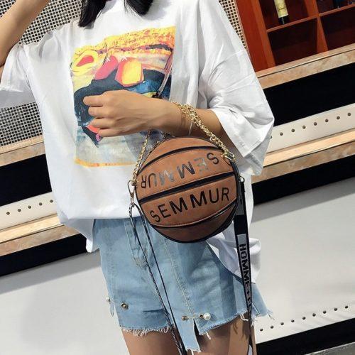 Basketball Purse Fashion Handbag