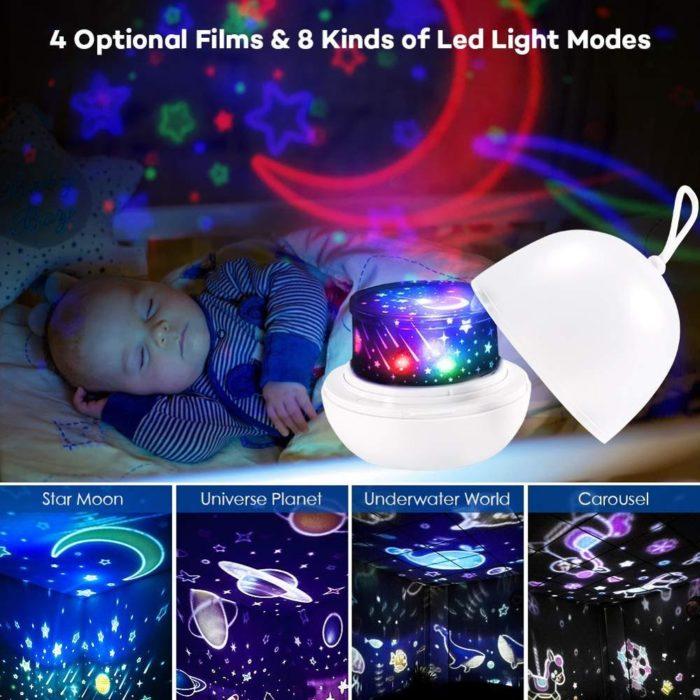 Kid's Light Projector Night Light
