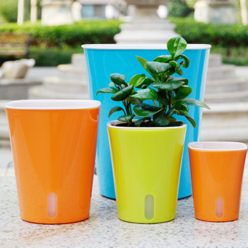 Self-Watering Plant Pot Garden Vase