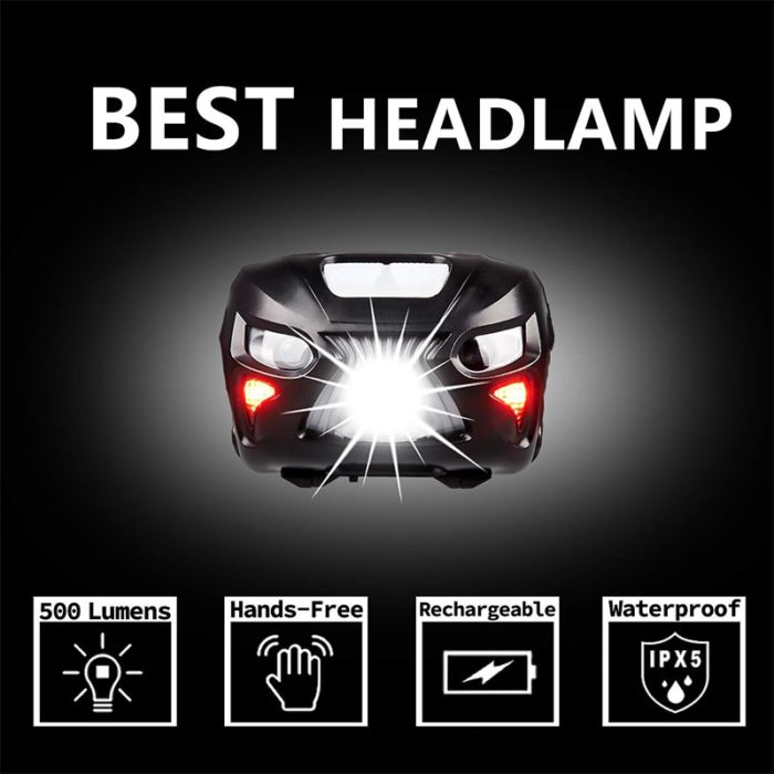 Rechargeable Headlight Compact Headlamp
