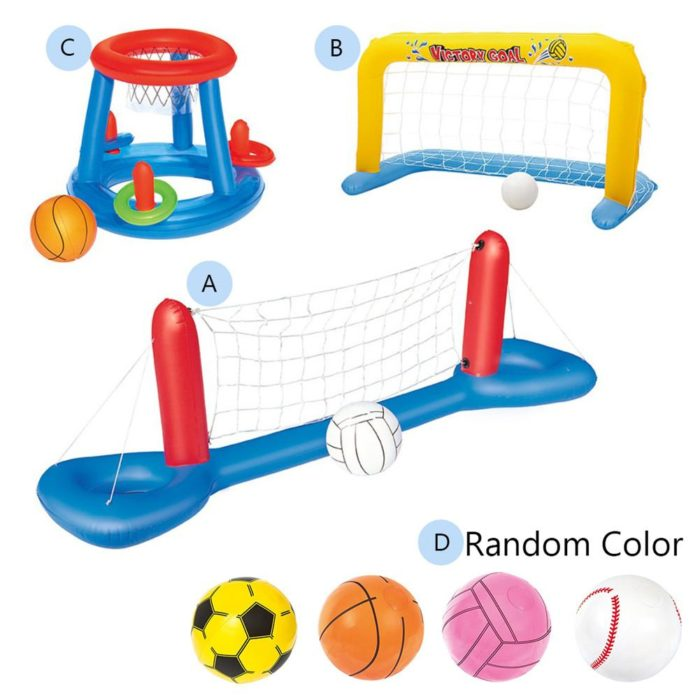 Pool Volleyball Set Water Play Toys