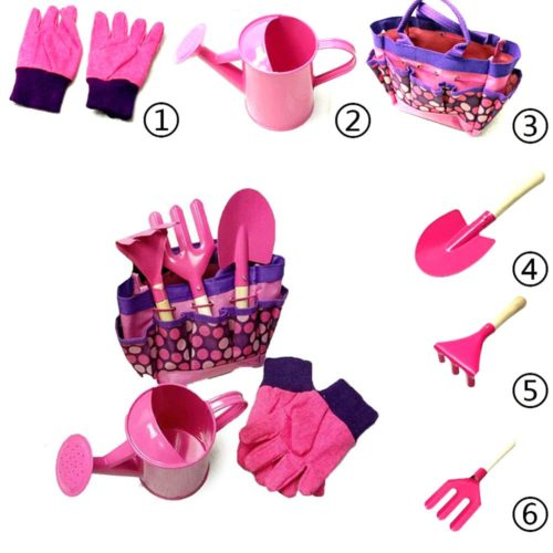 Childrens Garden Tools 6PCs Set